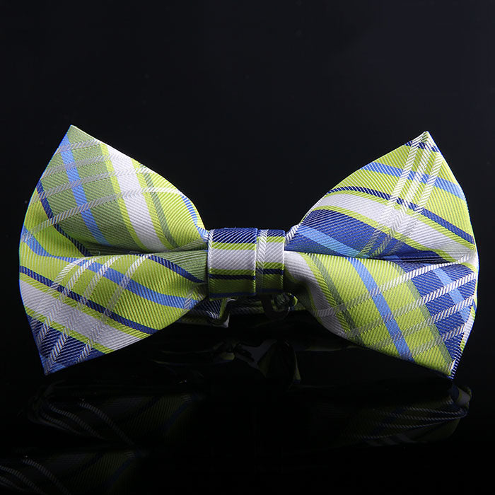 MADRAS PLAID BOW TIES