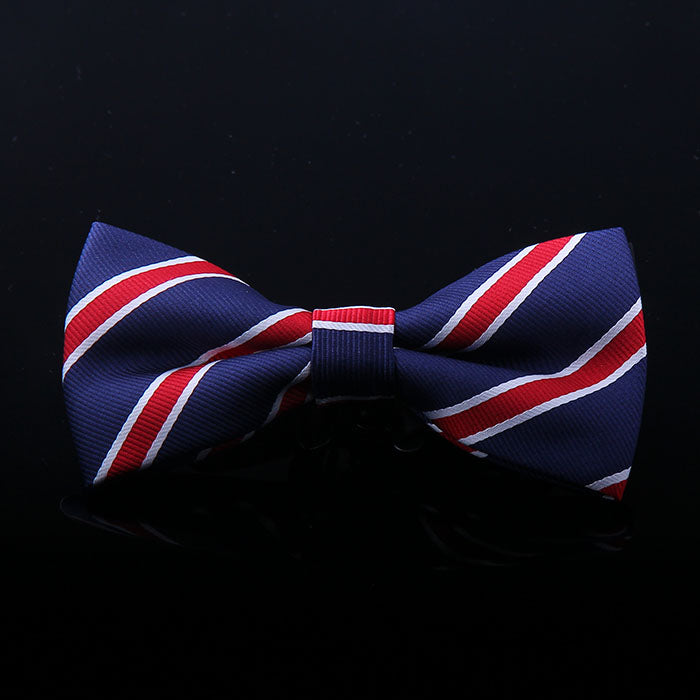 REGIMENTAL STRIPE BOW TIES