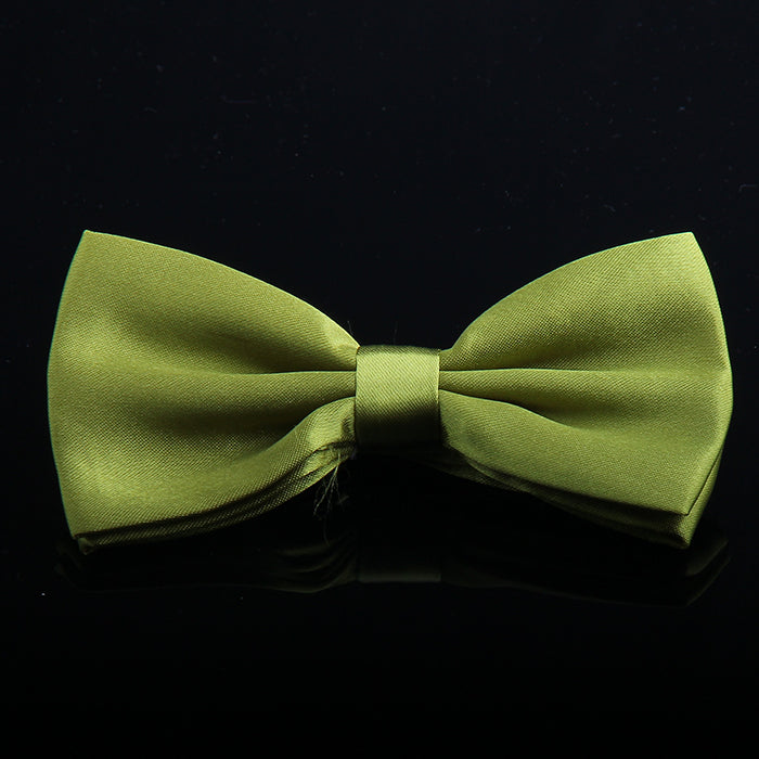 SATIN SHEEN SOLID BOW TIES