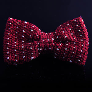 BIRDSEYE KNIT BOW TIES