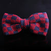 CHEVRON KNITTED BOW TIES