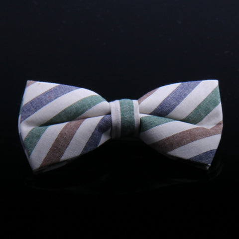 NEAT PATTERN KNIT BOW TIES