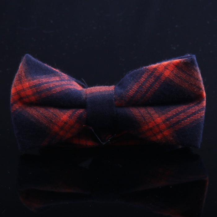TARTAN PLAID BOW TIES