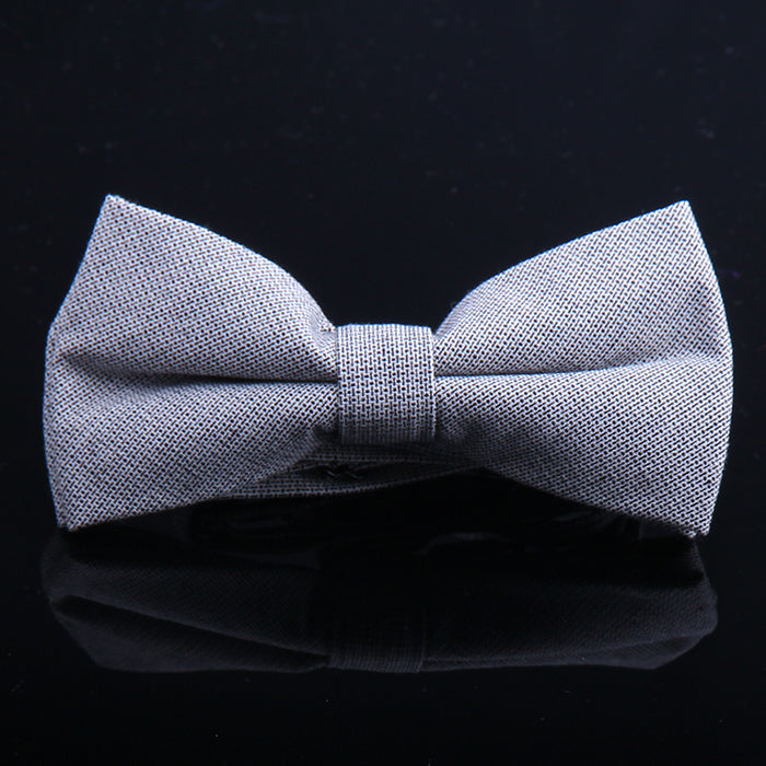 SOLID CHAMBRAY BOW TIES
