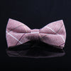 WINDOWPANE PLAID BOW TIES