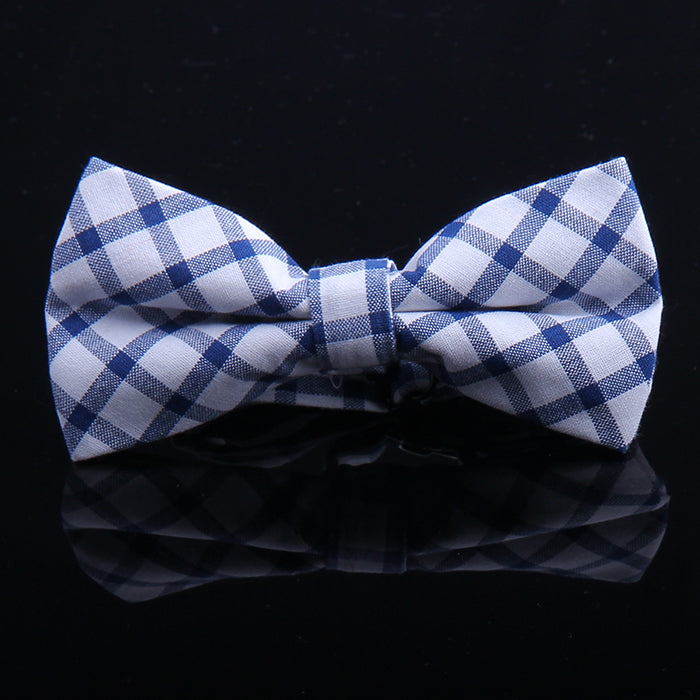 BASIC PLAID BOW TIES