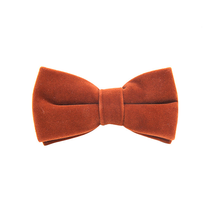 SOLID VELVET BOW TIES