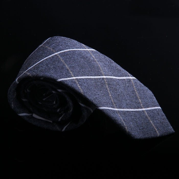 WINDOWPANE PLAID TIES