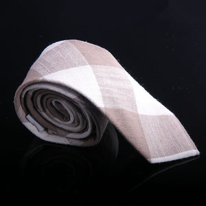 BOX PANEL PLAID TIES