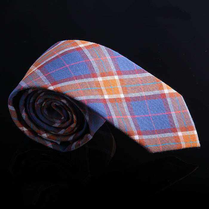 BRIGHT TARTAN PLAID TIES