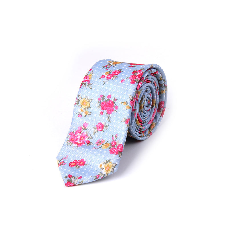 TROPICAL FLORAL TIES