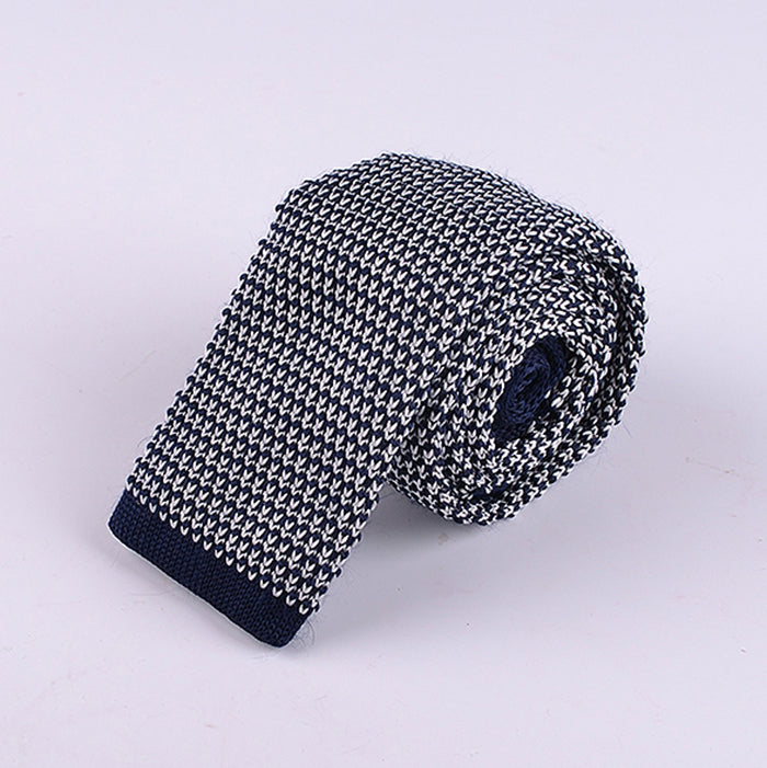 GRID KNIT TIES