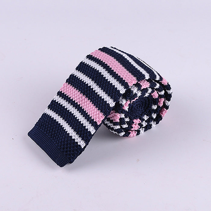 MULTI STRIPE KNIT TIES