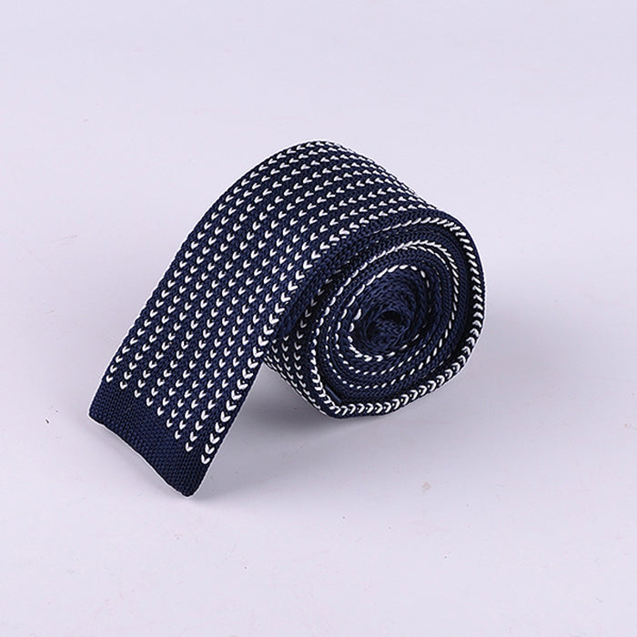 NEAT BIRDS EYE KNIT TIES