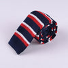 VARIABLE STRIPE KNIT TIES