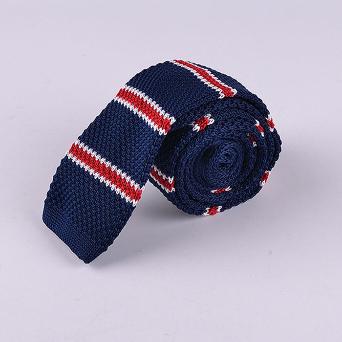 MALTESE STRIPE KNIT TIES