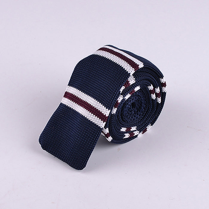 REGIMENTAL JERSEY KNIT TIES