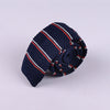 RIBBED STRIPE SILK TIES