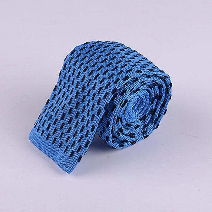MESH PATTERN KNIT TIES