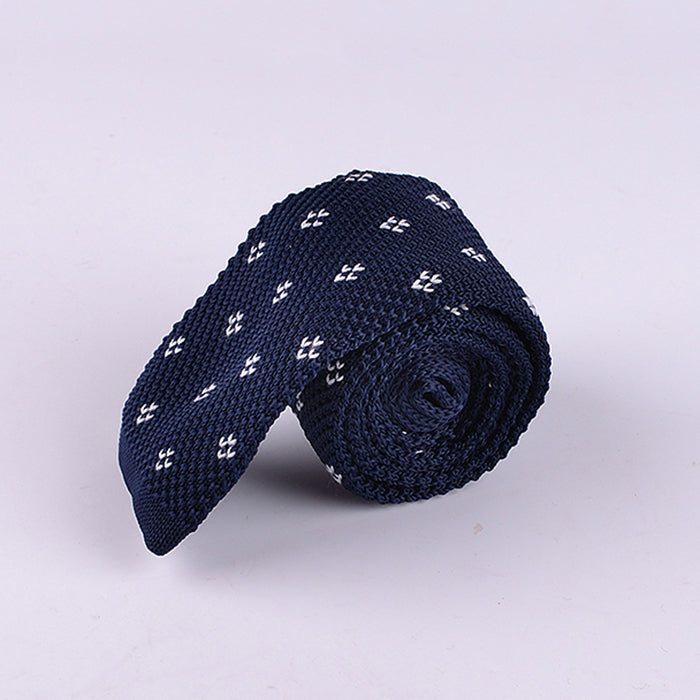 MINI DIAMOND KNIT TIES