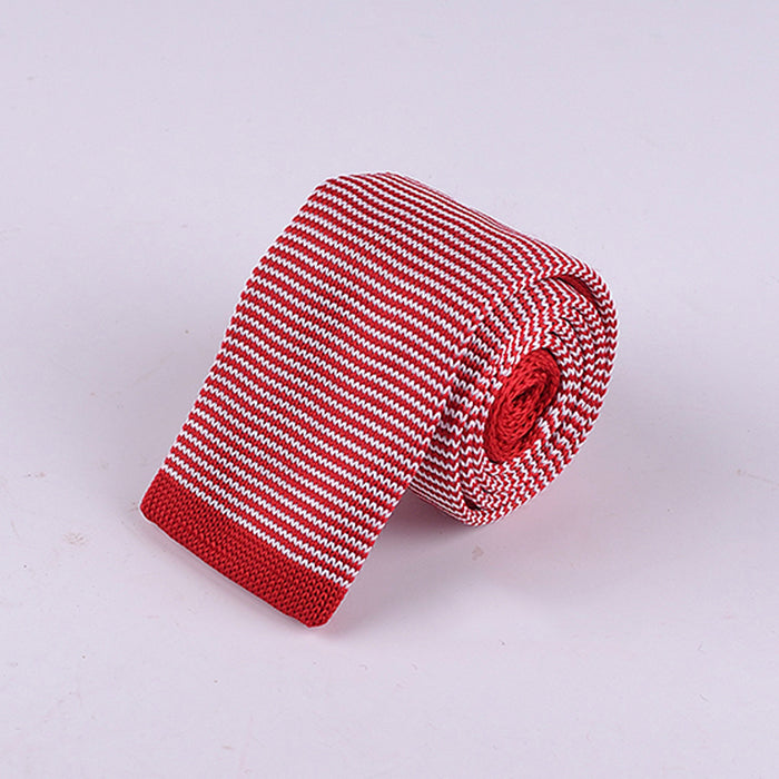 HAIRLINE STRIPE KNIT TIES