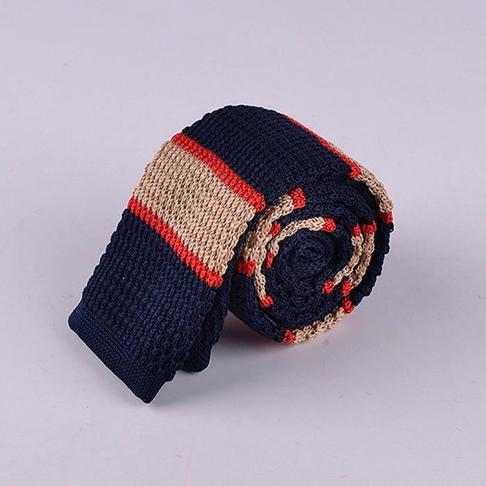 SPACED BENGAL STRIPE KNIT TIES
