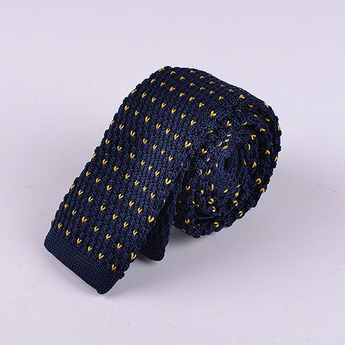 BIRDS EYE KNIT TIES