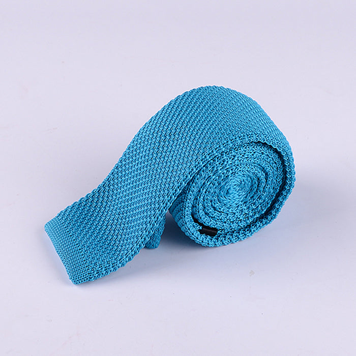 SOLID KNIT TIES
