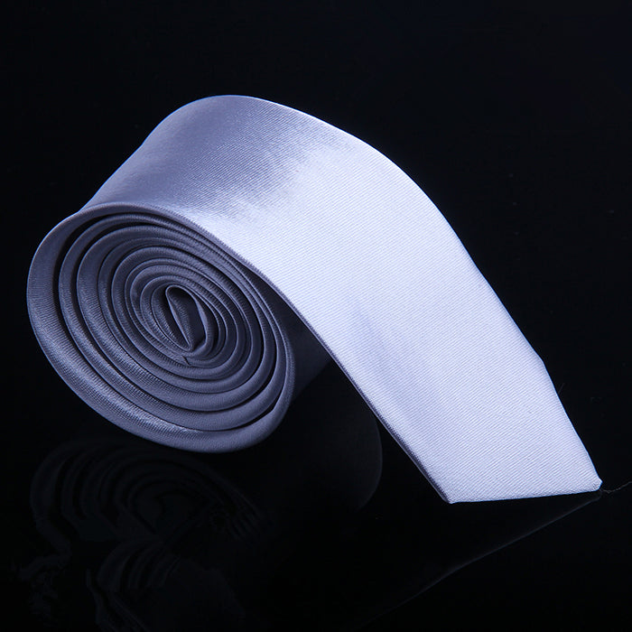 SATIN SHEEN SOLID TIES