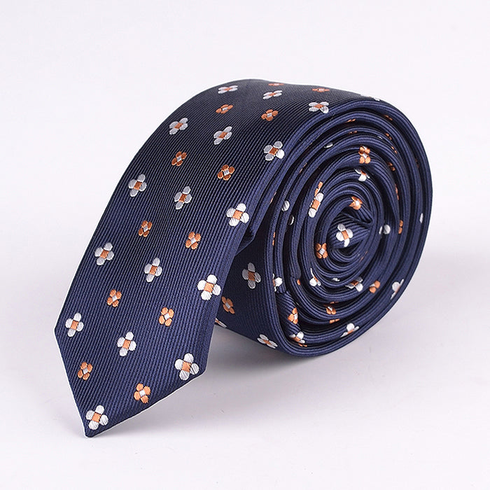 NEAT FLORAL TIE