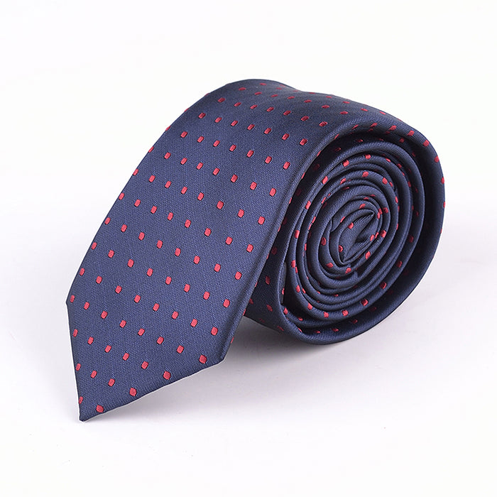 NEAT MINI SQUARE DOT TIE