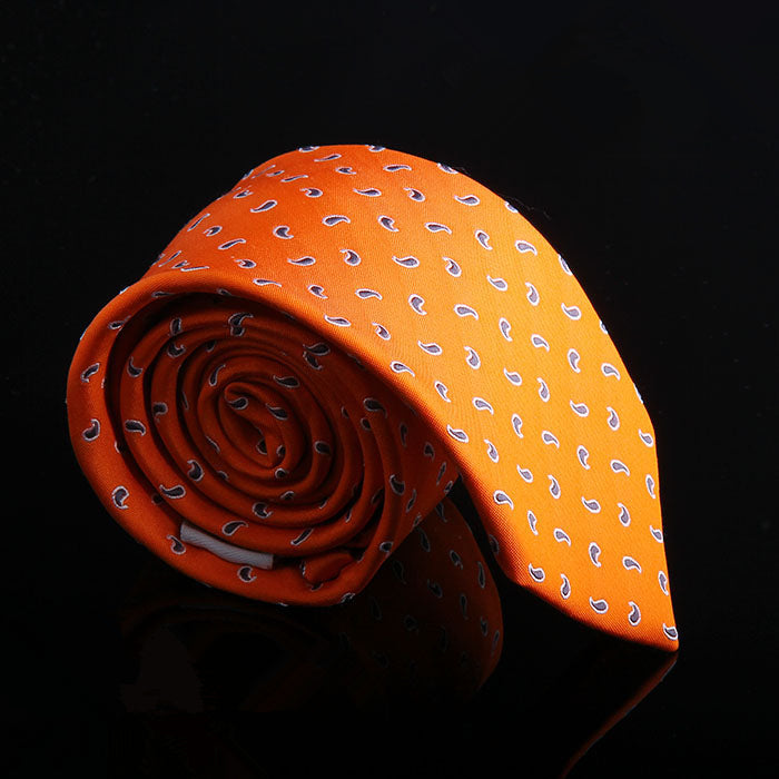 MOTIF TEXTURED SILK TIES