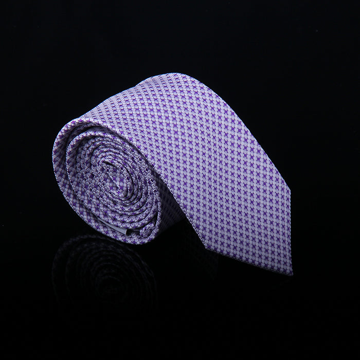 BASKET WEAVE SILK TIES