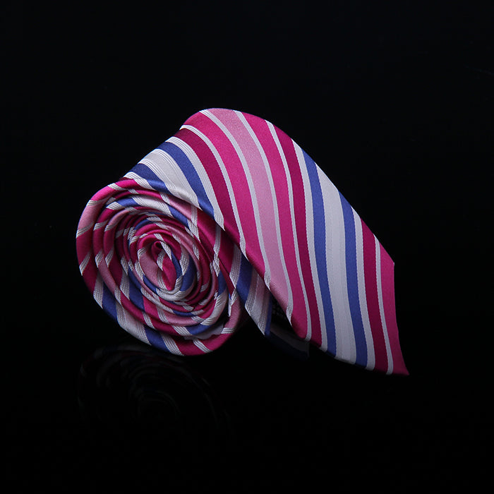 MULTI STRIPE SILK TIES