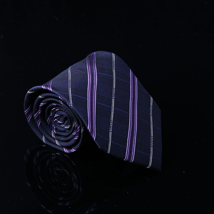 BALANCED STRIPE SILK TIES