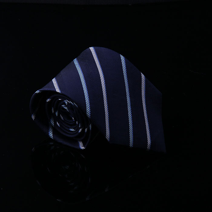 RANDOM DIAGONAL STRIPE SILK TIES