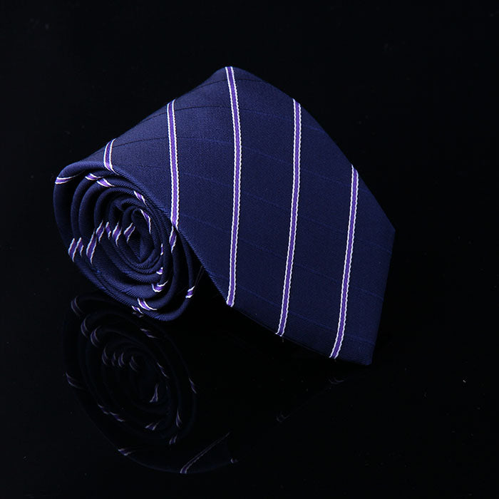 BASIC STRIPE SILK TIES