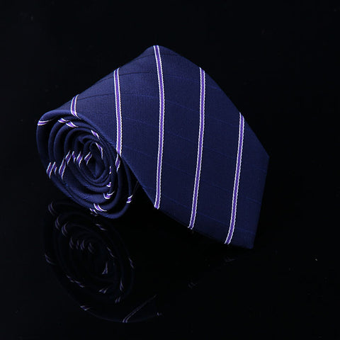 TONAL CHEVRON WOOL TIES