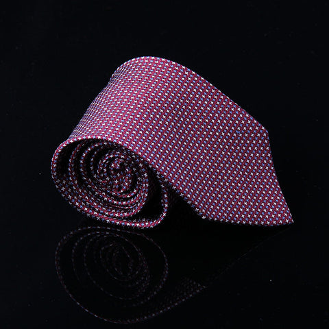 TEXTURED GEOMETRIC SILK TIES