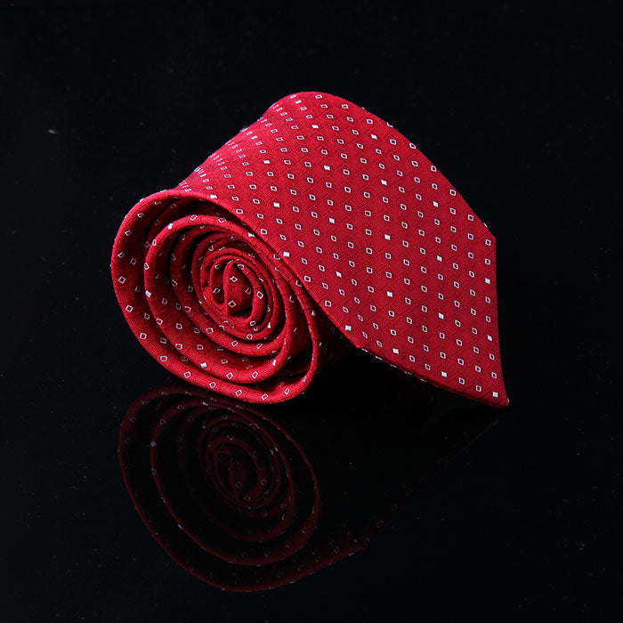 MICRO SQUARE SILK TIES