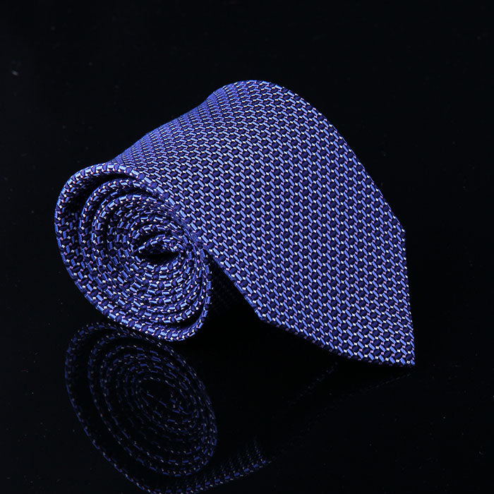 GRID FENCE SILK TIES
