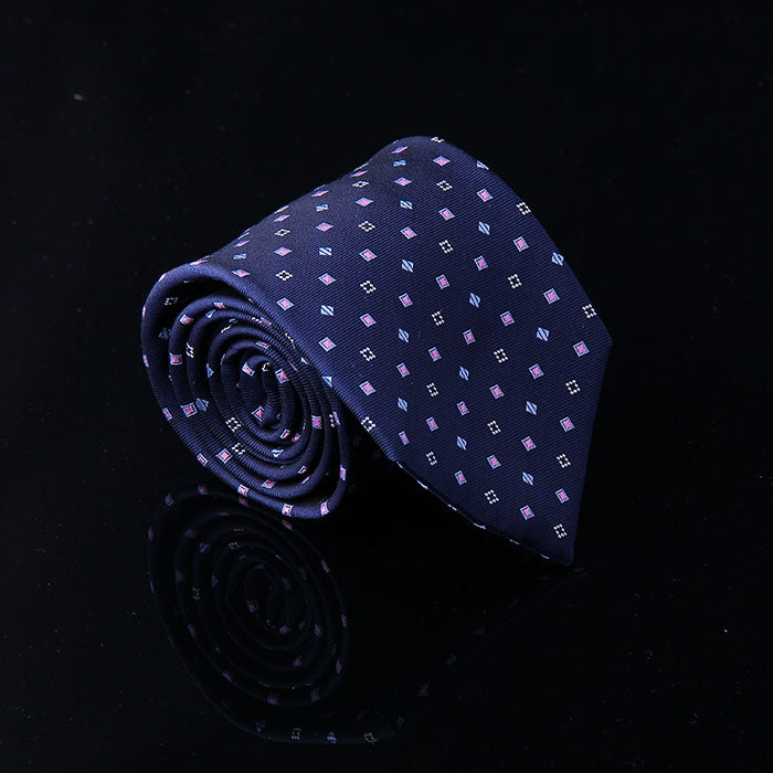 GEM MOTIF SILK TIES