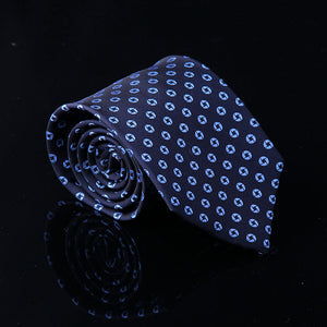 OCTAGON MOTIF SILK TIES