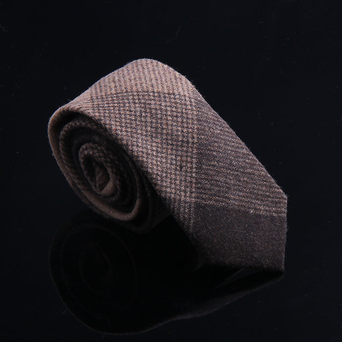 MULTI PLAID WOOL TIES