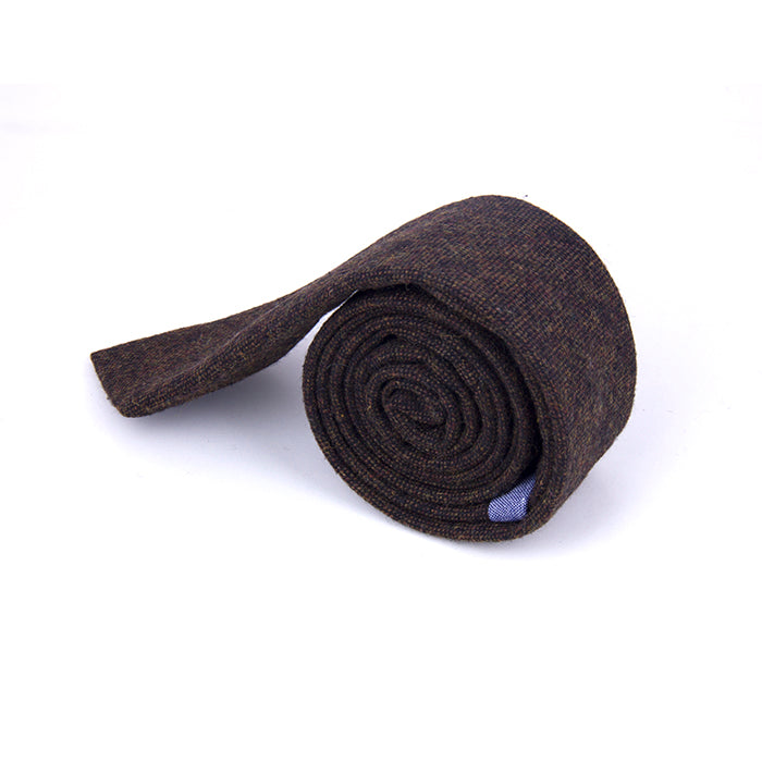 TEXTURED SOLID WOOL TIES