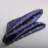 MICRO ANCHOR MOTIF POCKET SQUARES