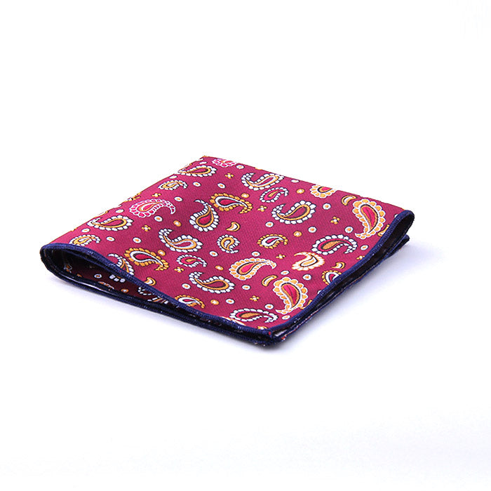 MINI PAISLEY POCKET SQUARE