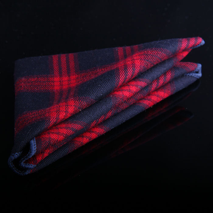 TARTAN PLAID POCKET SQUARES
