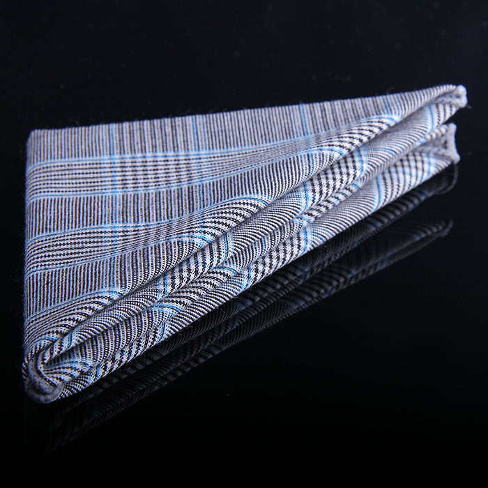 GLEN PLAID POCKET SQUARES