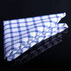 BASIC PLAID POCKET SQUARES